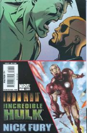 Iron Man Incredible Hulk Nick Fury One Shot (2008) Marvel comic book
